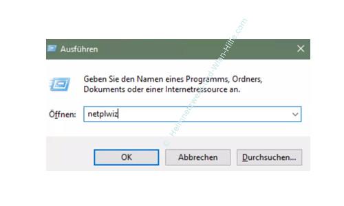 Die automatische Aktualisierung der Win 10 Apps aktivieren oder deaktiveren – Der Systembefehl netplwiz zum Öffnen der Benutzerverwaltung