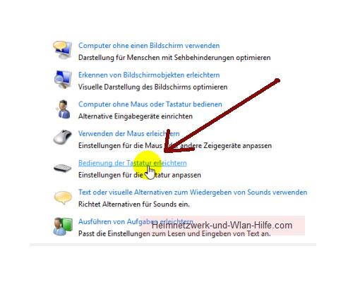Windows 10 - Die Snap-Funktion zum Andocken von Windows-Fenstern nutzen – Die Option: Bedienung der Tastatur erleichtern