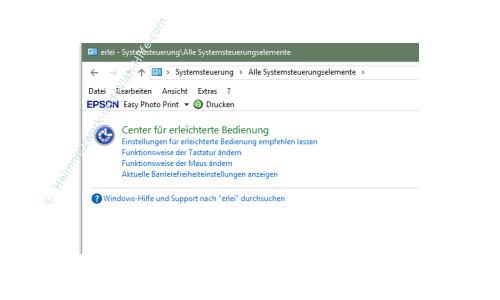 Windows 10 - Die Snap-Funktion zum Andocken von Windows-Fenstern nutzen – Das Suchergebnis nach dem Suchbegriff Erleichterte Bedienung