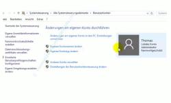 Die neue Benutzerverwaltung – Startseite der Benutzerkontenverwaltung