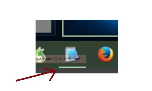 Windows 10 - Virtuelle Desktops nutzen – Taskleistenmarkierung des Programms, das auf dem aktiven Desktop geöffnet ist