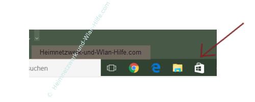 Die automatische Aktualisierung der Win 10 Apps aktivieren oder deaktiveren – Das Windows Store Icon in der Task-Leiste