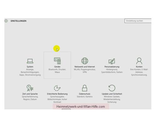 Auf wichtige Windows 10 Systemfunktionen schnell zugreifen – Das Konfigurationsfenster Einstellungen