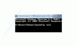 Netzwerk Tutorials und Anleitungen: IP-Adresse anzeigen lassen - Kommandozeile ipconfig /all