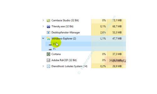 Übersicht über die Funktionen des neuen Windows 10 Task-Managers – Anzeige der Anzahl der Instanzen eines Prozesses