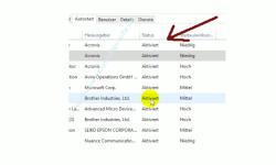 Übersicht über die Funktionen des neuen Windows 10 Task-Managers – Status-Anzeige des aktivierten oder deaktivierten Autostarts