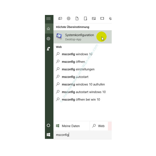 Übersicht über die Funktionen des neuen Windows 10 Task-Managers – Das Fenster Systemkonfiguration über den Befehl msconfig aufrufen