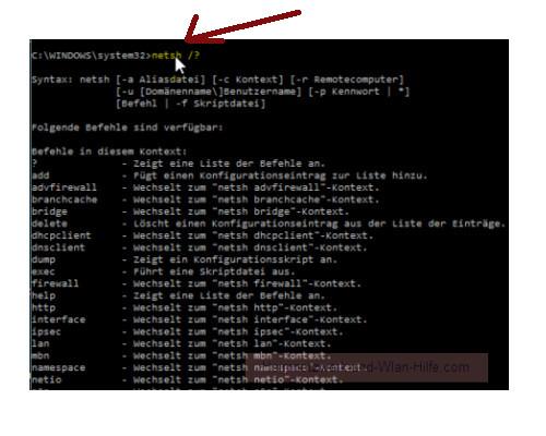 Windows 10 Tutorial - Wlan-Einstellungen und Wlan-Passwort anzeigen lassen – Die Optionen des Netzwerk-Systembefehls netsh