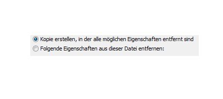 Private Informationen in Dateien und Dokumenten entfernen! - Eigenschaften aus einer Datei entfernen