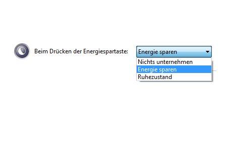 Windows Anleitungen und Tutorials: Reaktivierungskennwort des Windows 7 Ruhezustandes deaktivieren - Windows 7 Energieoptionen  beim Drücken der Energiespartaste