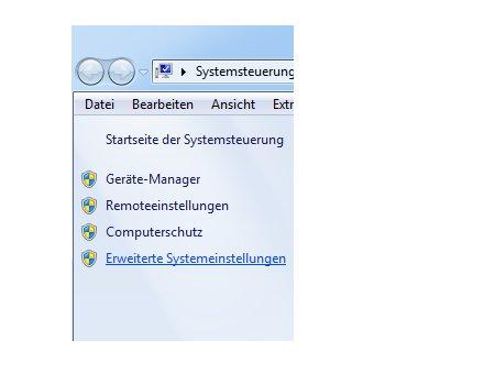 Die Windows 7 Auslagerungsdatei anpassen - Erweiterte Systemeinstellungen