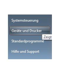 Heimnetzwerk Tutorials: Drucker im Windows 7 Netzwerk gemeinsam nutzen - Geräte und Drucker