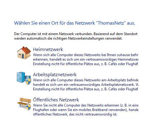 Heimnetzwerk Anleitungen: Die Windows-Heimnetzgruppe im eigenen Computernetzwerk nutzen - Windows 7 Heimnetzwerk Arbeitsplatznetzwerk und Öffentliches Netzwerk