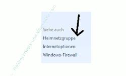 Heimnetzwerk Anleitungen: Die Windows-Heimnetzgruppe im eigenen Computernetzwerk nutzen - Windows 7 - Link Heimnetzgruppe im Netzwerk- und Freigabecenter