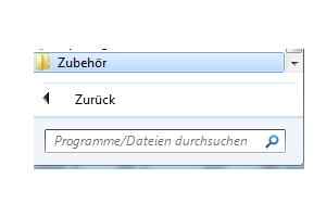 Windows Tutorials: Benutzerkonto mit Systembefehl net user anlegen - Windows 7 Start Alle Programme Zubehör