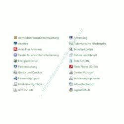 Heimnetzwerk Anleitungen: Die Windows-Heimnetzgruppe im eigenen Computernetzwerk nutzen - Windows 7 Systemsteuerung Übersicht