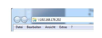 Netzwerk Anleitungen und Tutorials: Computer im Netzwerk finden - Über die IP-Adresse per Windows Explorer auf einen Computer zugreifen
