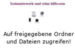 Windows 7 Zugriff auf freigegebene Ordner und Dateien