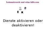 Windows 7 Dienste aktivieren oder deaktivieren