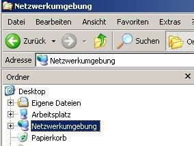 Anleitung: Ordner-Freigaben unter Windows anzeigen lassen Windows Explorer Netzwerkumgebung