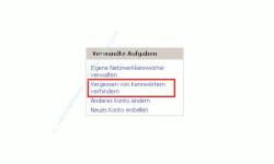 Netzwerk-Anleitung: Windows-Passwort auf Passwortrücksetzungsdiskette sichern! Verwandte Aufgaben - Vergessen von Passwörtern verhindern