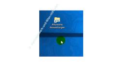 Windows 10 - Alle installierten Apps, Programme und Kacheln zusammen anzeigen – Die erstellte Verknüpfung auf dem Desktop