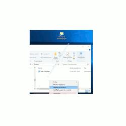 Windows 10 - Alle installierten Apps, Programme und Kacheln zusammen anzeigen – Die Verknüpfung zur Anzeige aller Apps in einen im Startmenü vorhandenen Ordner verschieben