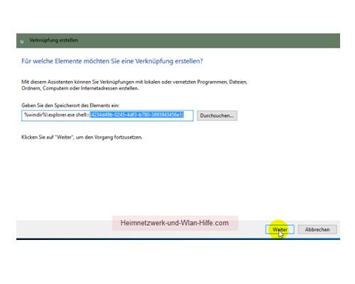 Windows 10 - Alle installierten Apps, Programme und Kacheln zusammen anzeigen – Die konfigurierte Verknüpfung bestätigen