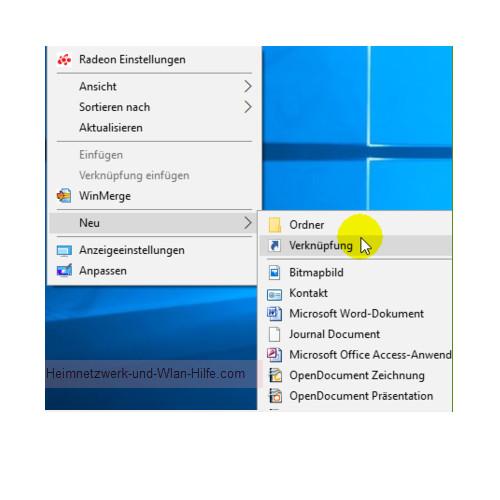Windows 10 - Alle installierten Apps, Programme und Kacheln zusammen anzeigen – Eine Verknüpfung auf dem Desktop erstellen
