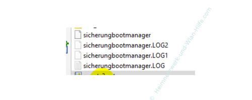 Windows 10 Tutorial - Das Bootmenü mit dem Bootmanager bcdedit konfigurieren – Die Bootmenü-Sicherungsdateien