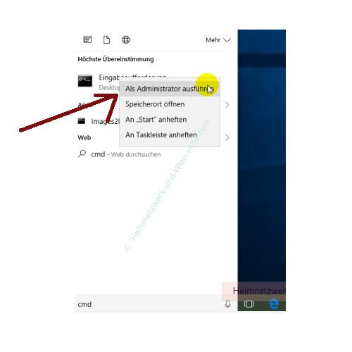 Windows 10 Tutorial - Das Bootmenü mit dem Bootmanager bcdedit konfigurieren – Die Eingabeaufforderung als Administrator ausführen
