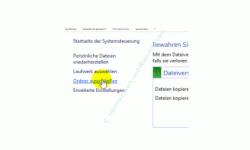 Windows 10 Dateiversionverlauf-Sicherung für das Speichern von Dateien nutzen – Menüpunkt Ordner ausschließen