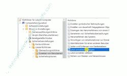 Windows 10 Tutorial - Den Benutzer Gast im Anmeldebildschirm von Windows 10 Professionell anzeigen! - Die lokale Richtlinie – Lokal anmelden verweigern