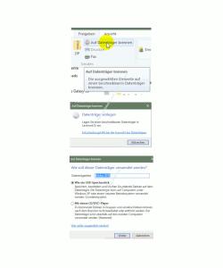 Die neuen Funktionen des neuen Windows 10 Explorers – Assistent zum Datenträger brennen