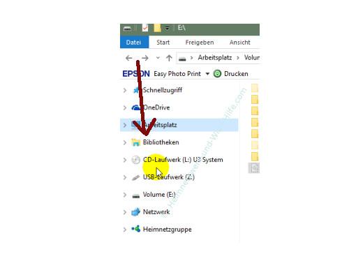 Die neuen Funktionen des neuen Windows 10 Explorers – Der linke Navigationsbereich mit Bibliotheken