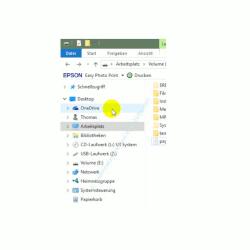 Die neuen Funktionen des neuen Windows 10 Explorers – Linker Navigationsbereich mit Anzeige aller Ordner
