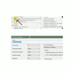 Die neuen Funktionen des neuen Windows 10 Explorers – ZIP-Komprimieren mit 7-Zip
