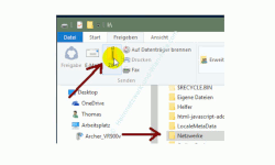 Die neuen Funktionen des neuen Windows 10 Explorers – ZIP-Funktion zum Komprimieren von Ordnern