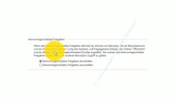 Windows 10  Tutorial - Kennwortgeschützte Freigaben deaktivieren! - Konfigurationsbereich Kennwortgeschütztes Freigeben einschalten