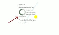 Windows 10 – Netzwerkverkehr und Datenvolumenverbrauch von Apps herausfinden – Der Link Nutzungsdetails in der Übersicht der Datennutzung
