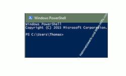 Die Windows 10 Standard-Kommandozeile durch die Power Shell ersetzen – Das Kommandozeilenfenster Windows PowerShell