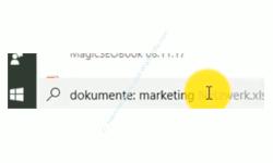 Windows 10 Suche Tutorial – Suche nach Dokumenten