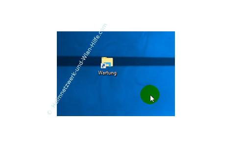 Windows 10 Tutorial - Systemfunktionen über Systemkennungen im Startmenü einbinden – Unsere erstellte Verknüpfung auf dem Desktop