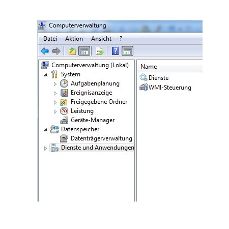 Windows 7 Dienste aktivieren oder deaktivieren - Computerverwaltung
