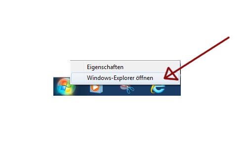 Windows 7 - Laufwerksbuchstaben zuweisen - Explorer öffnen