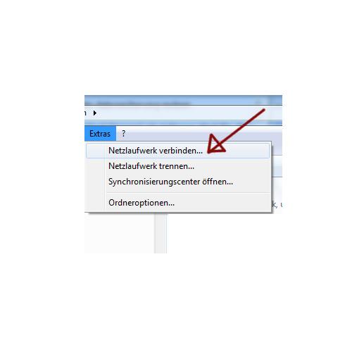 Windows 7 - Laufwerksbuchstaben zuweisen - Netzlaufwerk verbinden