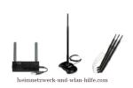 Die Wlan-Reichweite mit Wlan-Antennen verbessern