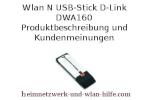 Wlan N USB-Stick D-Link DWA160 - Produktbeschreibung und Kundenmeinungen