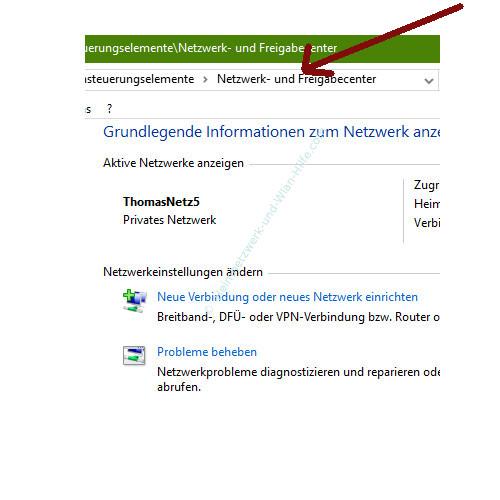 Probleme im Wlan-Netzwerk erkennen und beheben – Netzwerk- und Freigabecenter