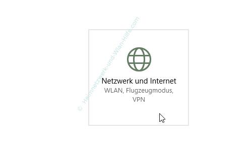 Probleme im Wlan-Netzwerk erkennen und beheben – Windows 10 Einstellungen – Netzwerk und Internet aufrufen